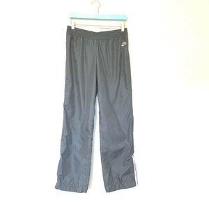 Nike Women's Gray Pink Track Sweat Pants XS